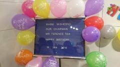 Chairman's Birthday Surprise